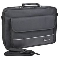 "19"" NB  bag - Gembird NCC-6, High-quality carrying case, Black"