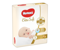 Подгузники Huggies Elite Soft Mega 1 (3-5 kg), 84 шт.