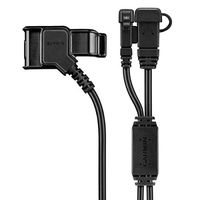 Garmin VIRB X/XE Rugged Charge Cable, This 3-to-1 combo cable allows you to power your VIRB X or XE