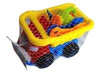 купить Набор игрушек для песка в машине средний 9ед, 16X26cm в Кишинёве