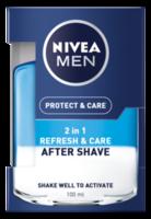 Nivea Men лосьон после бритья 2in1 Protect&Care 100 мл.