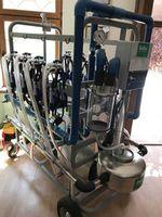купить Мобильная доильная установка для коров Gardelina 2x4 в Кишинёве