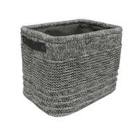 cumpără Coş tricot 360x260x300 mm, gri în Chișinău