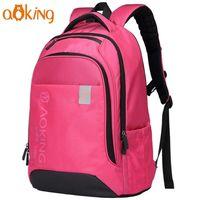 Рюкзак Aoking SN59527 для школы, путешествий, повседневного использования, с отражателями