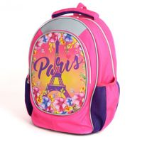 """Ghiozdan pentru școală """"Paris"""" HIPE I roz"""
