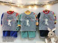 Twetoon Baby  Комплект велюровый 2ед. (штанишки и батник) 118111