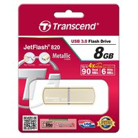 Flash Drive Transcend JetFlash 820 Gold 8Gb