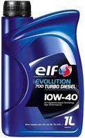 Моторное масло Elf Evolution 700 Turbo Diesel 10W-40 1L