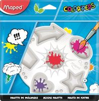MAPED Палитра MAPED 6 ячеек, пластик, блитсер