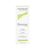 Noreva EXFOLIAC Loțiune 125ml (tratamentul acneei pe corp și suprafețe acoperite cu păr)
