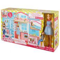 Барби Портативный домик с куклой
