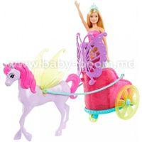 """Barbie GJK53 Игровой набор """"Сказочная карета"""""""
