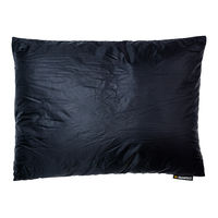 Подушка пуховая Warmpeace Down Pillow, black, 2026