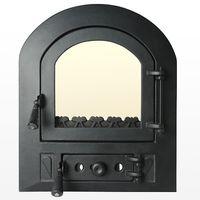 Дверца чугунная со стеклом Weekend - Nicoleta mic