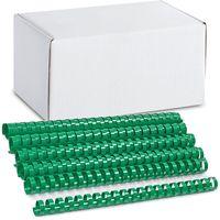 ARGO Пружина пластиковая ARGO A4/22мм, 50 штук, зеленая