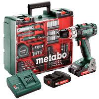 Mașină de găurit și înșurubat Metabo BS18L QUICK Workshop