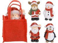 купить Фигурка рождественская в сумочке 6.5X4X2.5cm в Кишинёве