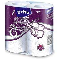 Бумага гигиеническая GRITE Orhideea 3 сл 1/4 белая