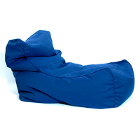 Fotoliu - Sezlong Bean Bag, albastru inchis