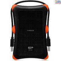 """2.5"""" SATA HDD External Case Silicon Power """"Armor A30"""", Black-Orange"""