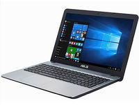 """NB ASUS 15.6"""" X541UA Silver (Core i3-6006U 4Gb 1Tb) 15.6"""" HD (1366x768) Non-glare, Intel Core i3-6006U (2x Core, 2.0GHz, 3Mb), 4Gb (1x 4Gb) PC4-17000, 1Tb 5400rpm, Intel HD Graphics, HDMI, No ODD, 100Mbit Ethernet, 802.11n, Bluetooth, 1x USB 3.1 Type C, 1x USB 3.0, 1x USB 2.0, Card Reader, Webcam, DOS, 3-cell 36 WHrs Li-Ion Battery, 2.0kg, Silver"""