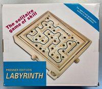 Логическая деревянная игра