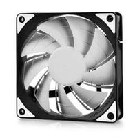 "120mm Case Fan - DEEPCOOL Gamer Storm TF series ""TF120"" Fan with White LED, 120x120x26mm, 500-1800rpm, <17.6~31.3dBa, 76.5CFM, Fluid Dynamic Bearing, 4Pin, PWM, 2-Layer Blade Design, DIY Solution, MTBF >100000 hours"