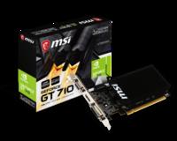 Видеокарта MSI GeForce GT 710 1GD3H LP (1 ГБ/GDDR3/64 бит)