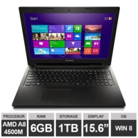 "Ноутбук Lenovo IdeaPad G505s (15,6"" A8 4500M Radeon HDGraphics 6GB 1TB Win8) Black"