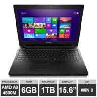 "Ноутбук Lenovo IdeaPad G505s (15,6"" A8 4500M Radeon HDGraphics 6GB 1TB Win8) Black"