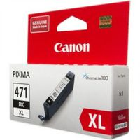 Ink Cartridge Canon CLI-471XL Bk, Black