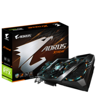 Gigabyte GV-N208TAORUS X-11GC GeForce RTX™ 2080 Ti 11GB GDDR6, 352-bit
