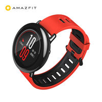 Hua Mi Amazfit Watch, Red