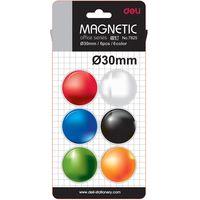 DELI Магнит цветной DELI Universal D30/6 блистер