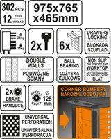 Набор инструментов Sthor 58550