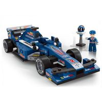 "КОНСТРУКТОР 1:24 F1 Racing Car ""BLUE LIGHTNING"""
