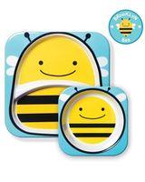 Набор Skip Hop Zoo Тарелка и миска Пчелка