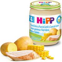 Пюре Hipp из индейки с картофелем и сладкой кукурузой (4+ мес.), 125 г