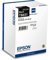 Ink Cartridge Epson T8651 / C13T865140, WF-M5xxx XXL Mono Cartridge