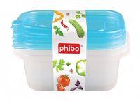 Container BYTPLAST 4311538 Fresh (set 3 buc/0.6 L)