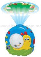 """Baby Mix TT-01920379 Музыкальный ночник-проектор """"Улитка"""""""