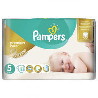 Pampers Scutece Premium Care 5, 11-25 kg, 44 buc.