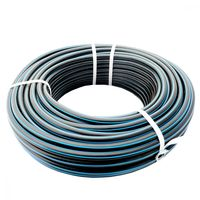 купить Труба PE ф.40 x 2,0 PN6 HDPE_line  (50м)  (синяя полоса) в Кишинёве