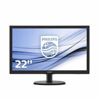 """21.5"""" Philips """"223V5LHSB2"""", Black"""