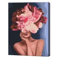 Floarea elegantă, 40х50 cm, pictură pe numere BS34806