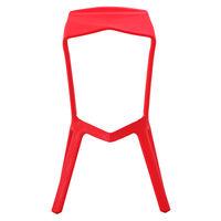 купить Пластиковый стул, 460x420x820 мм, красный в Кишинёве