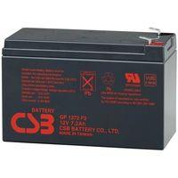 CSB GP 1272F2, Battery 12V 7.2AH