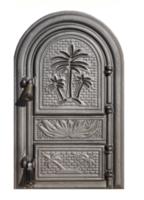 Ușă pentru sobă Palmier fără sticlă