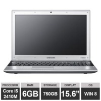 "Ноутбук Samsung 3530EC (15,6"" i5 2410M HDGraphics 6GB 750GB Win8) Black"