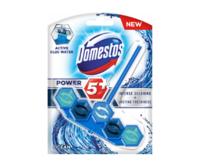 Блок для очищения унитаза Domestos Power 5+ Ocean Blue, 1 шт x 53 г